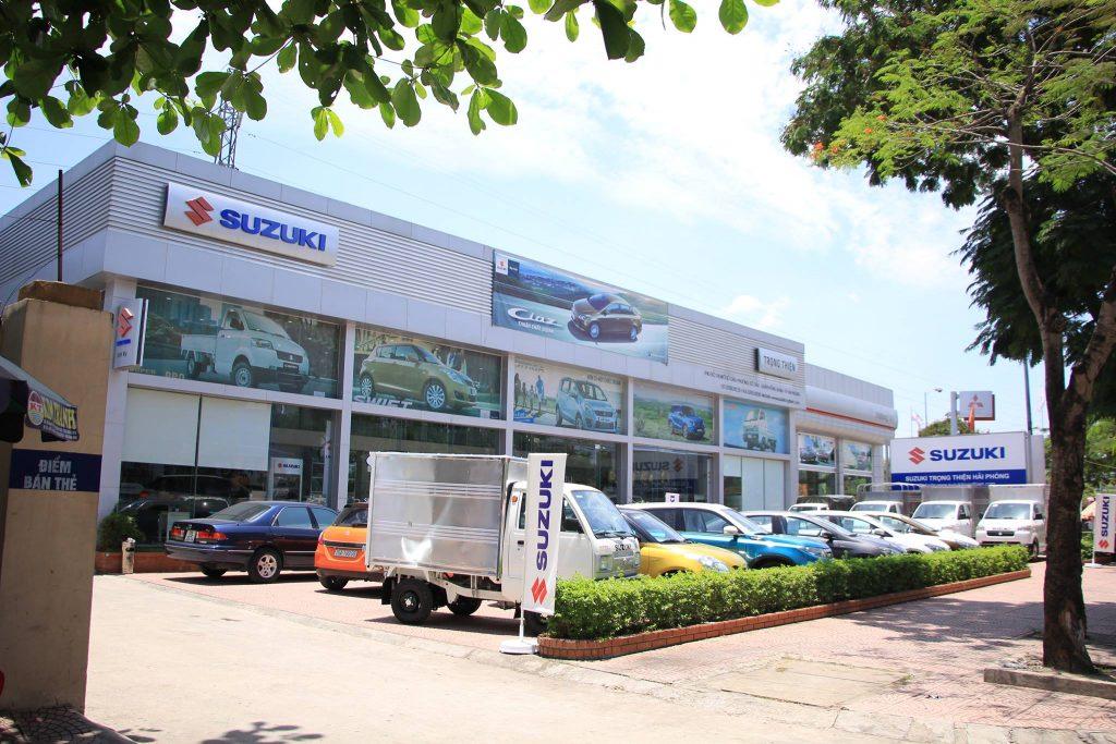 Đại lý xe ô tô Suzuki Trọng Thiện