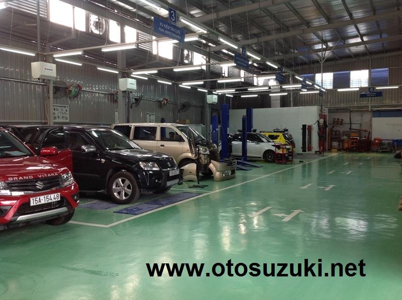Xưởng Dịch vụ sửa chữa Suzuki Hải Phòng